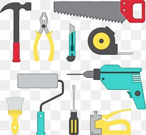 Drill Accessories Handheld Power Drill - Line Metalworking Hand Tool Tool Clip Art Tool Accessory PNG