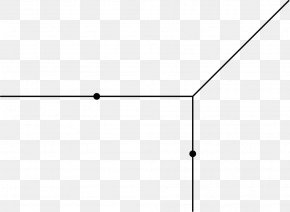 Point Line - Line Point Angle White Font PNG