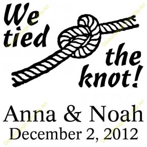 Rope Knot Cliparts - Knot Rope Wedding Necktie Clip Art PNG