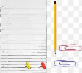 Hand Drawn White Paper Pencils - Paper Pencil Drawing PNG