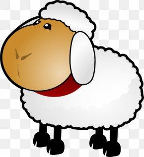 Sheep Dog Cliparts - Sheep Goat Drawing Clip Art PNG