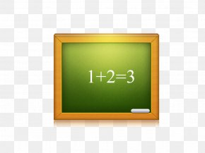 Dark Green Chalkboard - Blackboard Download Icon PNG