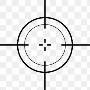 Crosshair - Telescopic Sight Reticle PNG