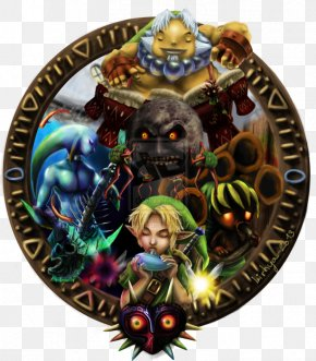 The Legend Of Zelda - The Legend Of Zelda: Majora's Mask The Legend Of Zelda: Ocarina Of Time The Legend Of Zelda: The Wind Waker The Legend Of Zelda: Breath Of The Wild PNG