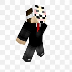 Minecraft - Minecraft: Story Mode Security Hacker Skin Video Game PNG