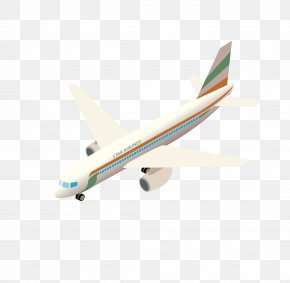 Aircraft Vector Material - Airplane Narrow-body Aircraft Car PNG