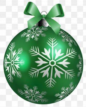 Christmas Green Cliparts - Christmas Ornament Santa Claus Clip Art PNG