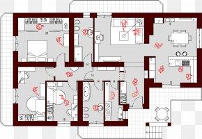 House - House Furniture Planimetrics Square Meter PNG