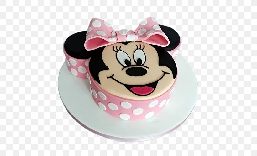 Stupendous Minnie Mouse Mickey Mouse Birthday Cake Daisy Duck Png 500X500Px Personalised Birthday Cards Paralily Jamesorg