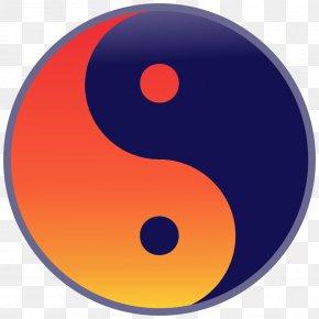 Red - Tao Te Ching Taoism Symbol Qigong Taijitu PNG