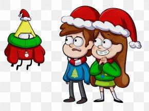 Christmas Eve Happy - Christmas Tree Watercolor PNG