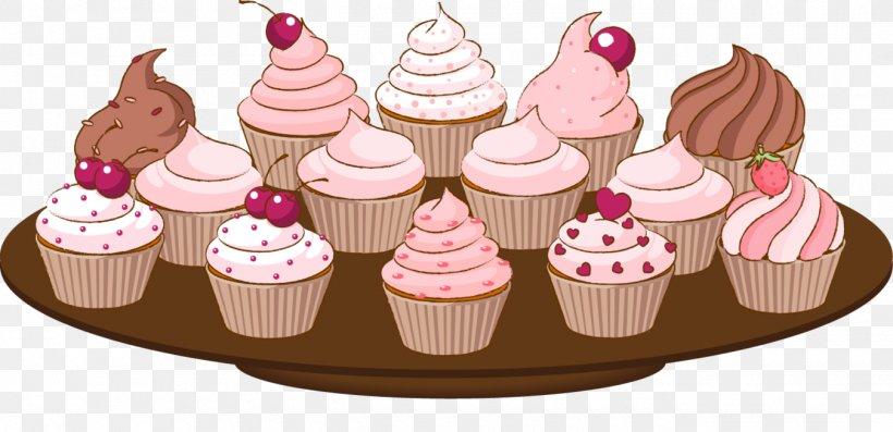 Cupcake Muffin Birthday Cake Clip Art, PNG, 1350x655px, Cupcake, Baking, Birthday Cake, Buttercream, Cake Download Free