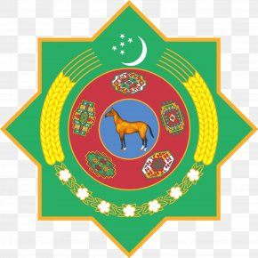 Usa Gerb - Emblem Of Turkmenistan Turkmen Soviet Socialist Republic Soviet Union Coat Of Arms PNG