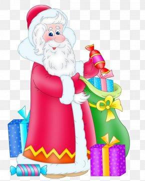Santa Claus - Ded Moroz Santa Claus Snegurochka Christmas Clip Art PNG