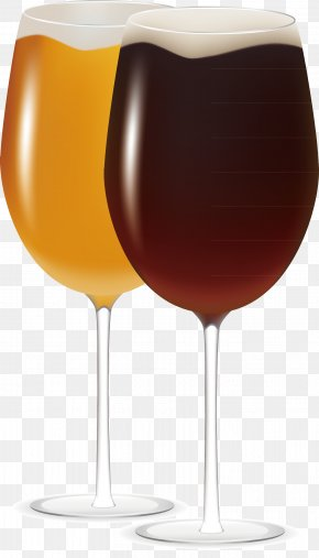 Wine Glass Decoration Vector Effect - Wine Glass Cup PNG