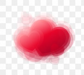 Hearts 3D Dream - Heart Love Valentines Day Wallpaper PNG
