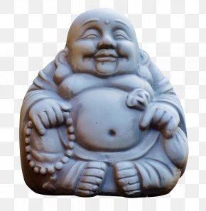 Laughing Buddha Monk - Budai Clip Art PNG