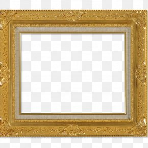 Gold Frame - Picture Frame Gold Download Chemical Element PNG