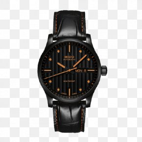 Mido Helmsman Series Watches - Le Locle Mido Automatic Watch Strap PNG