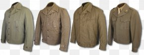 Grey Leather Jacket With Hood For Men - M-1965 Field Jacket Eisenhower Jacket Clothing Wool PNG