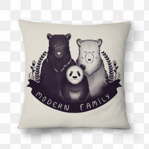 Panda Bear Family - Bear Giant Panda T-shirt Poster Design PNG