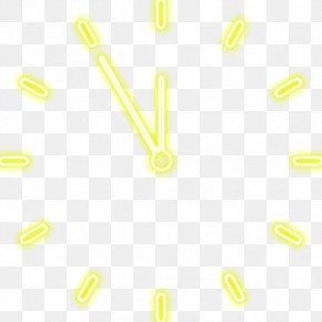 Clock - Material Text Industrial Design Font PNG