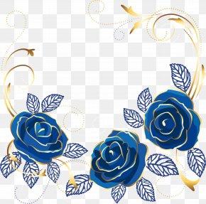 Blue Rose - Beach Rose Blue Rose Clip Art PNG