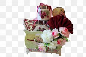 Aidilfitri - Cut Flowers Food Gift Baskets Floristry PNG