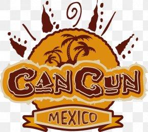 Vector Palm Sun Apparel Printing - Cancún T-shirt Illustration PNG