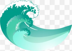Wave - Wind Wave Euclidean Vector PNG