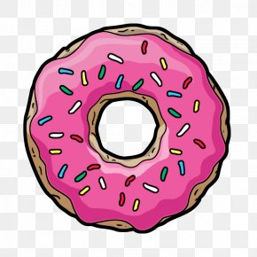 Donut - Coffee And Doughnuts Coffee And Doughnuts Clip Art PNG