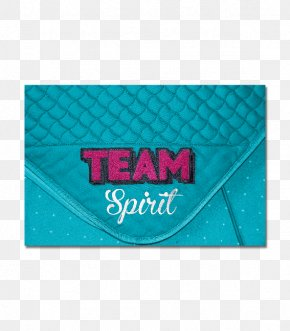Team Spirit - Turquoise Rectangle Font PNG