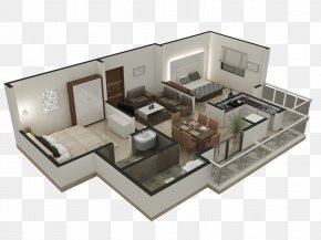 Plan - 3D Floor Plan Interior Design Services Architecture PNG