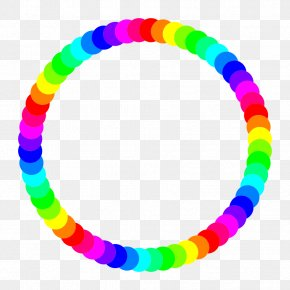 Rainbow Border Cliparts - Circle Rainbow Free Content Clip Art PNG