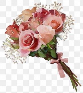 Rose Flower Bouquet Clip Art Pink PNG