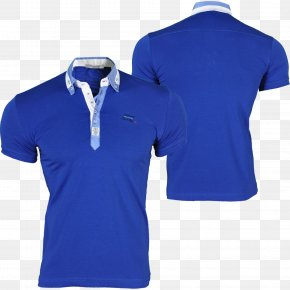 T-shirt - T-shirt Polo Shirt Blue Clothing PNG