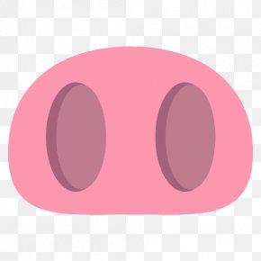 Nose - Magenta Pink Purple Violet Maroon PNG