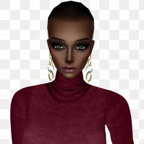 Enterprise X Chin - Neck Maroon Beauty.m PNG