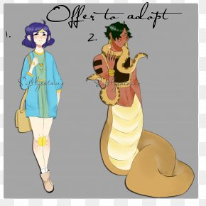 Snake Satanic - Costume Design Human Behavior Cartoon Character PNG