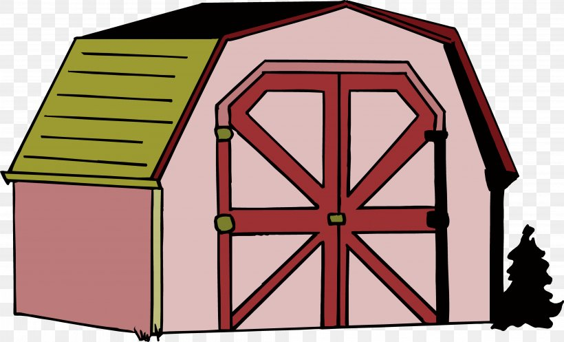 Warehouse Cartoon Illustration, PNG, 3971x2411px, Warehouse, Area, Barn, Building, Cargo Download Free
