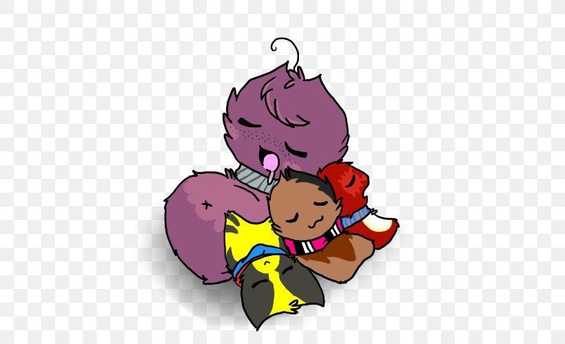 Cartoon Purple Clip Art, PNG, 500x500px, Watercolor, Cartoon, Flower, Frame, Heart Download Free