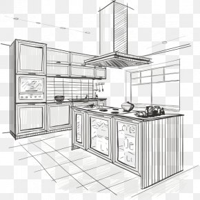 Kitchen - Kitchen Interior Design Services Furniture Renovation PNG
