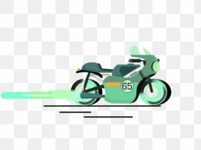Speeding Motorcycle - Cafe Bicycle Motorcycle Clip Art PNG