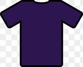 Shirt Cartoon Cliparts - T-shirt Navy Blue Polo Shirt Clip Art PNG