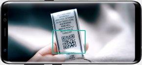 Samsung - Samsung Galaxy S8+ Samsung Galaxy Note 7 Bixby QR Code PNG