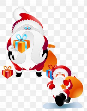 Send Gift Santa Claus - Santa Claus Christmas Eve PNG