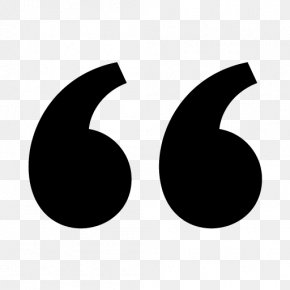 Quotation - Quotation Mark Symbol PNG