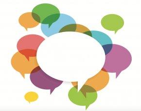 Conversation Speech Balloon Dialogue Communication PNG