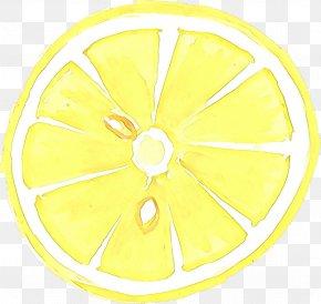 Wheel Rim - Yellow Automotive Wheel System Circle Rim Wheel PNG