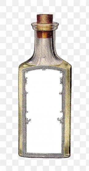 Vintage Label - Bottle Paper Label Clip Art PNG
